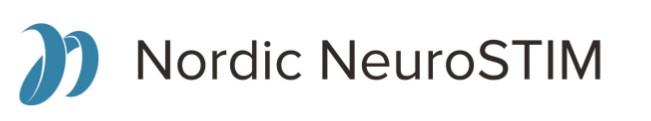 Nordic NeuroSTIM logo og navnetræk